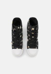 Even&Odd - Sneakers alte - black/white - 5