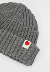 Jack & Jones - JACRDD SHORT BEANIE - Beanie - grey melange - 4
