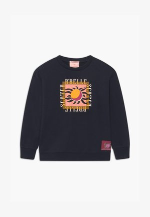 CREWNECK WITH PLACED ARTWORK - Sweater - night