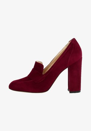 ILENEA - Zapatos altos - dark red