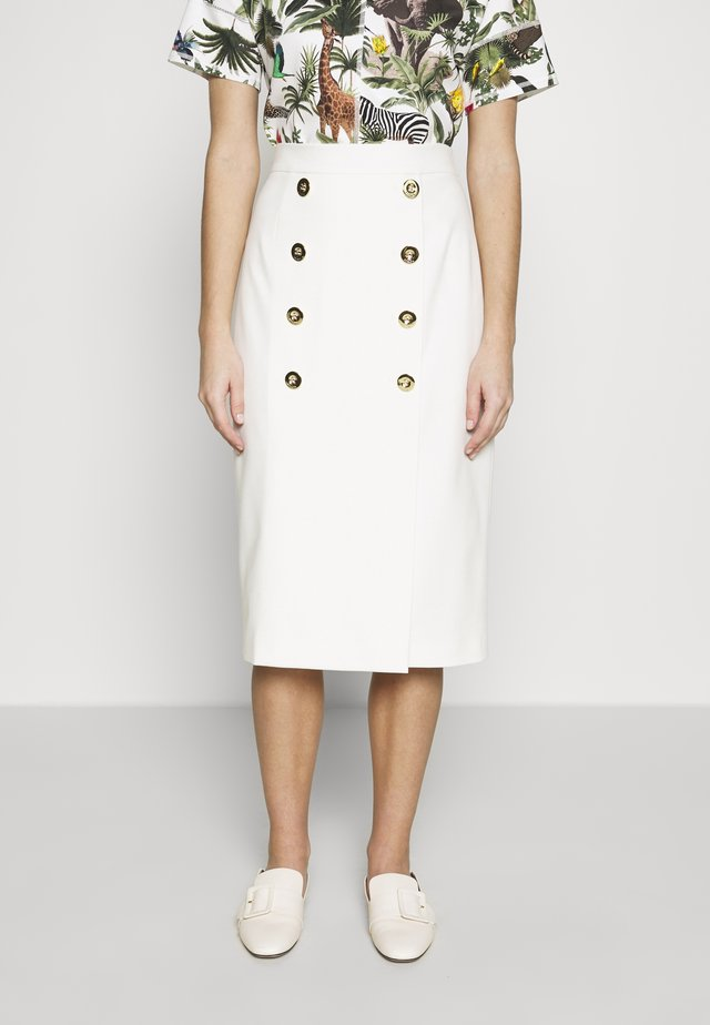 RIBA - Pencil skirt - off-white