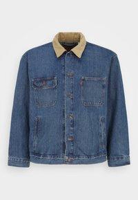 Levi's® Plus - BIG STOCK TRUCKER - Denim jacket - blue - 0