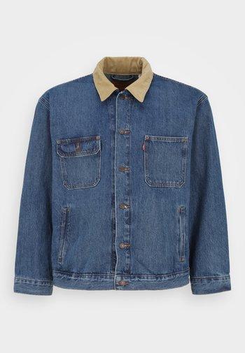 BIG STOCK TRUCKER - Denim jacket - blue