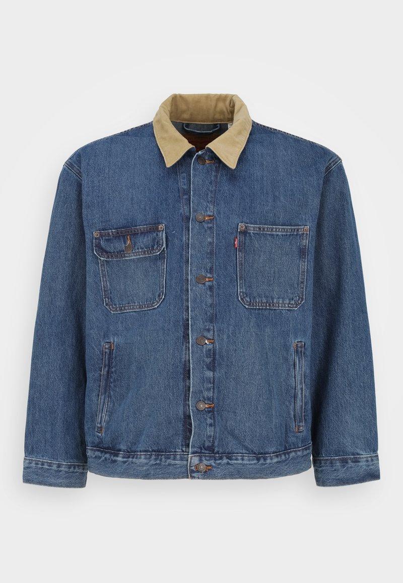 Levi's® Plus - BIG STOCK TRUCKER - Denim jacket - blue