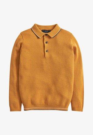 Polo shirt - ochre