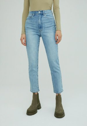 NATALIA - Slim fit jeans - blue denim