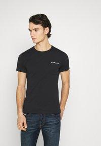 Replay - TEE - Basic T-shirt - black - 0