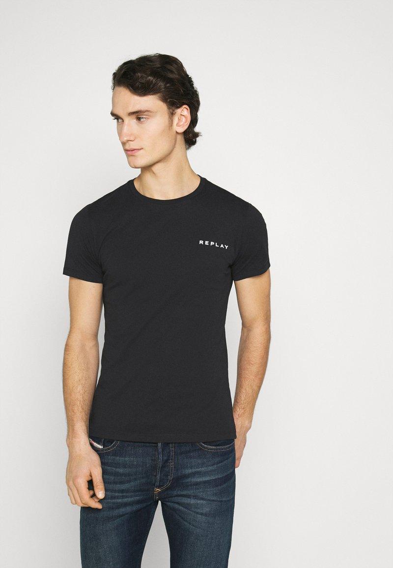 Replay - TEE - Basic T-shirt - black