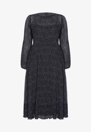 SPOT PLISSE - Sukienka letnia - black
