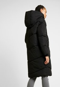 Noisy May - NMTALLY LONG JACKET - Winter coat - black - 2