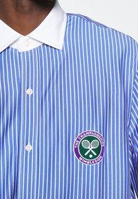 Polo Ralph Lauren - INTERLOCK FULL ESTATE - Shirt - court blue/white - 4