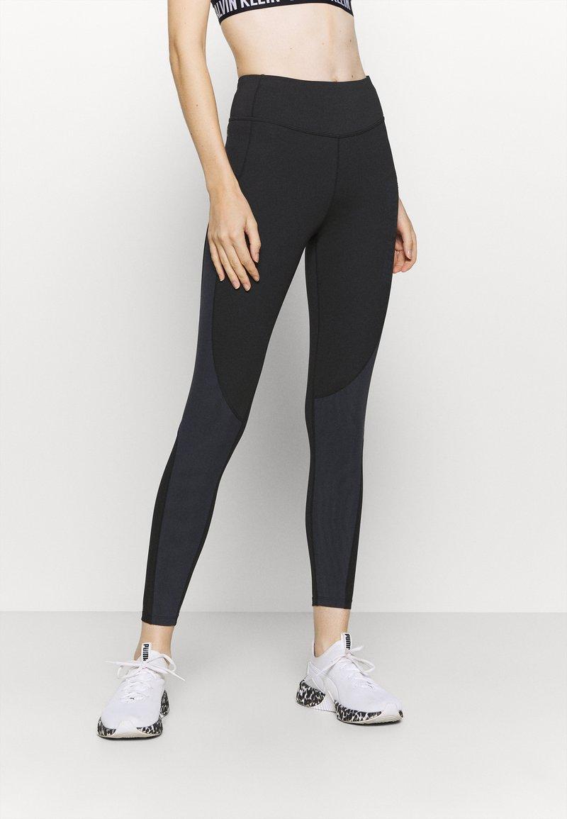 Calvin Klein Performance - FULL LENGTH TIGHT - Leggings - black