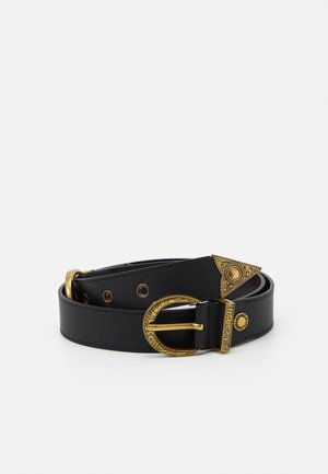 BELT PIN BUCKLE DOUBLE - Cintura - nero