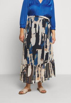 JRFANA SKIRT - Maxi skirt - black iris