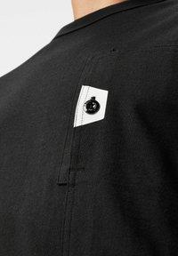 G-Star - UTILITY POCKET LOGO LONG SLEEVE - Long sleeved top - dk black - 3