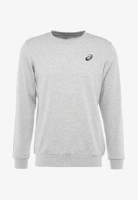 ASICS - CHEST LOGO CREW - Sweatshirt - mid grey heather - 4