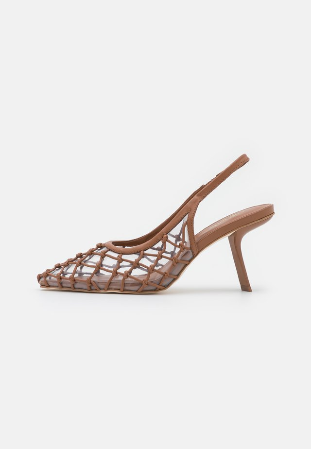 SORAY SLING BACK - Klassieke pumps - hazelnut