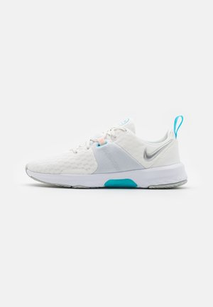CITY TRAINER 3 - Obuwie treningowe - summit white/metallic silver/pure platinum/baltic blue/crimson tint/white