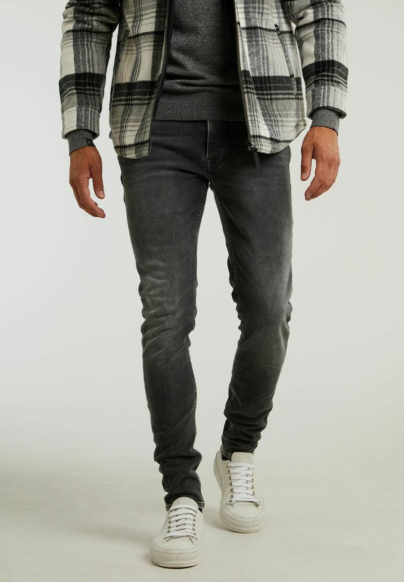 CHASIN' - Jeans slim fit - grey