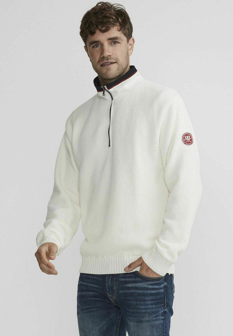 Holebrook - Stickad tröja - off white