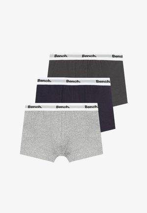 3 PACK - Pants - grey/black/dark blue