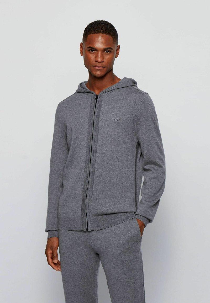 BOSS - Zip-up sweatshirt - grey