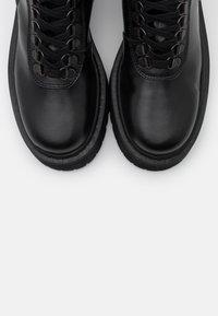 The Kooples - AVEC LOGO AU DOS - Cowboy/biker ankle boot - black - 6