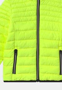 CMP - BOY FIX HOOD UNISEX - Zimní bunda - yellow fluo - 2