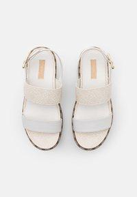 Liu Jo Jeans - SUMMER - Sandály na platformě - white/milk - 5