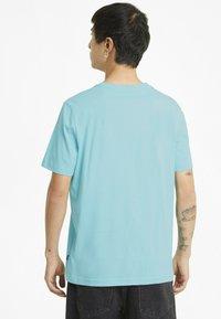 Puma - Print T-shirt - blue - 2