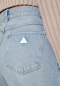Abrand Jeans - Jeans straight leg - light blue denim - 4