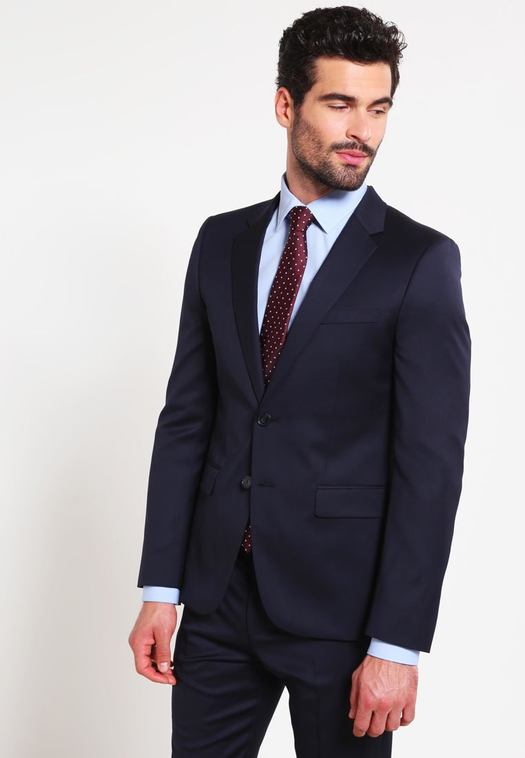 HUGO - AERON/HAMEN - Oblek - dark blue