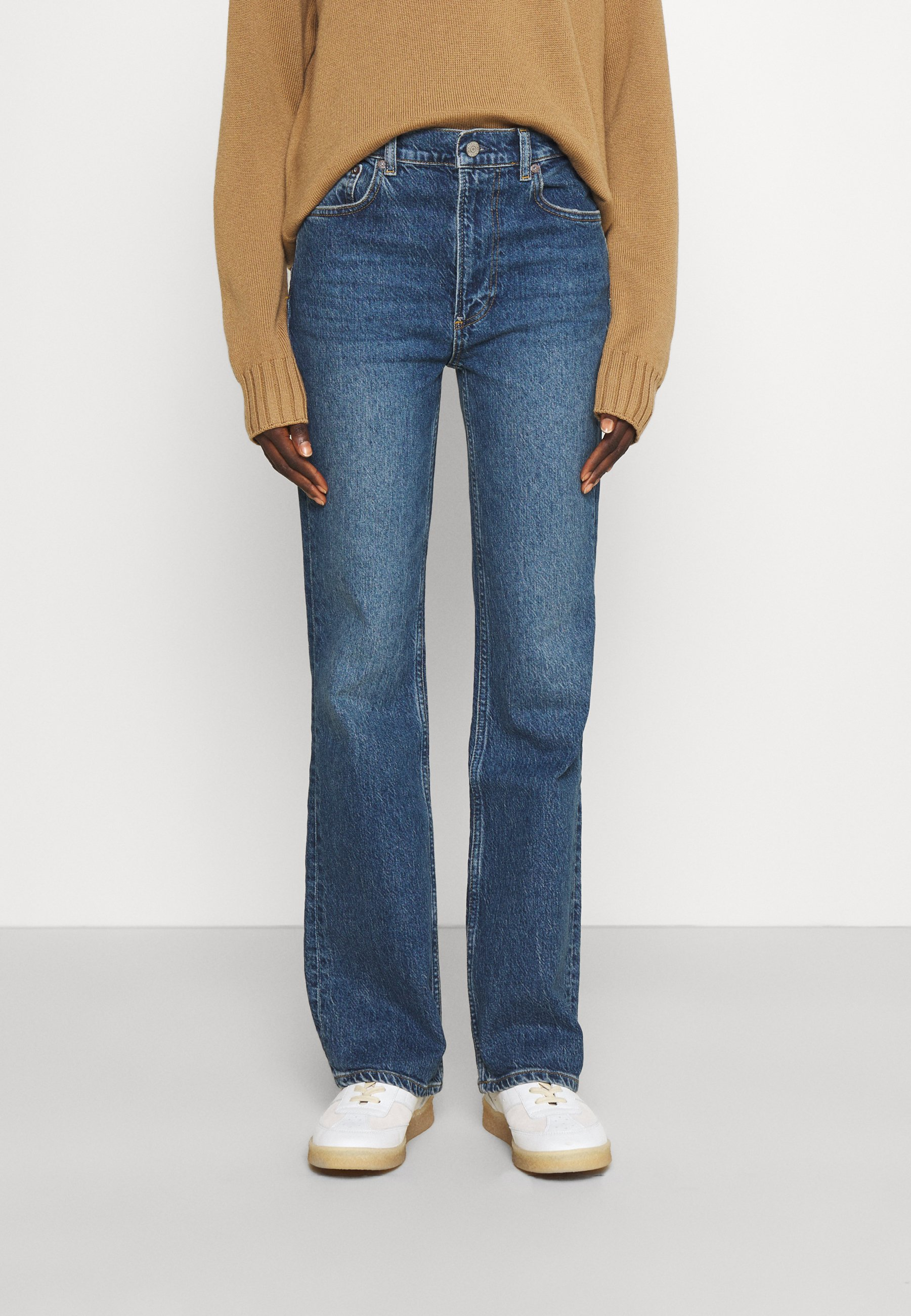 Femme THE OLIVER HIGH RISE BOOTCUT - Jean flare