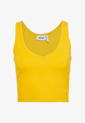 NOVELLA SINGLET - Top - warn yellow