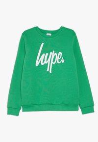 Hype - KIDS CREWNECK SCRIPT - Sudadera - green - 0