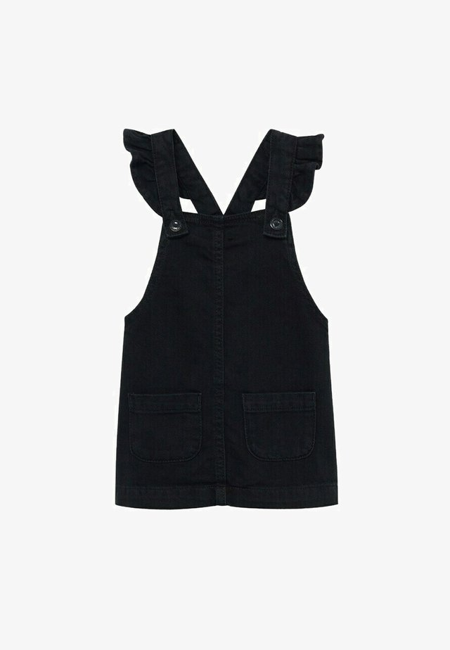 Denim dress - black denim