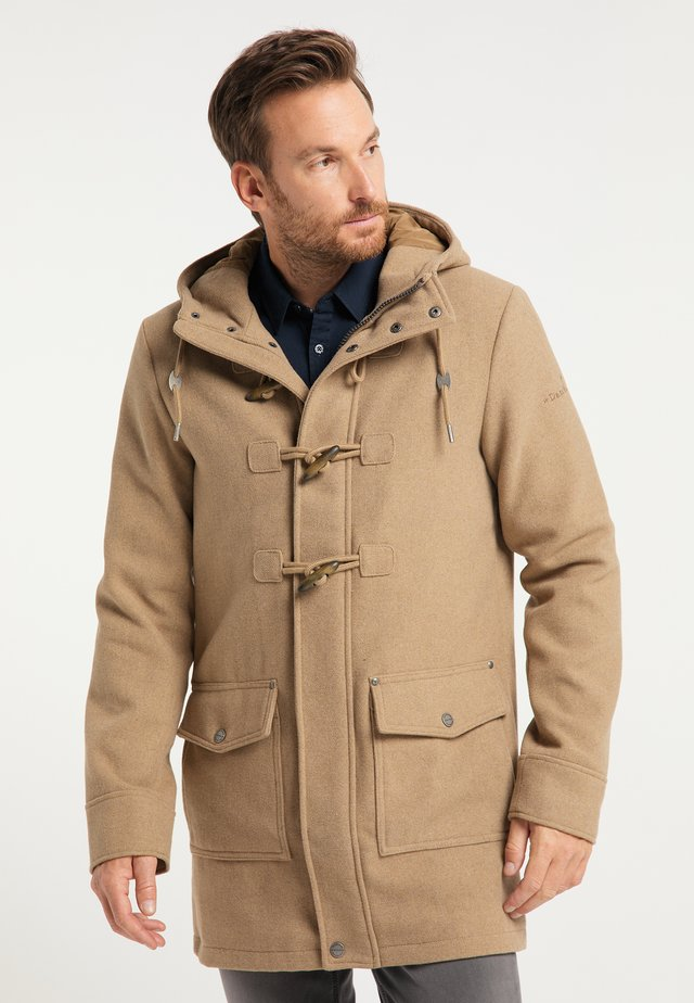 Short coat - beige melange