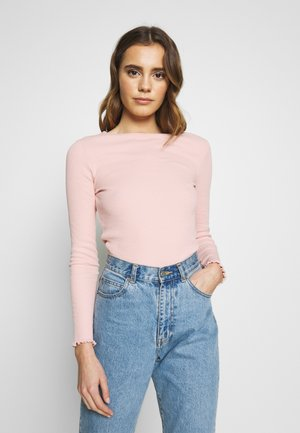 BABYLOCK - Long sleeved top - light pink