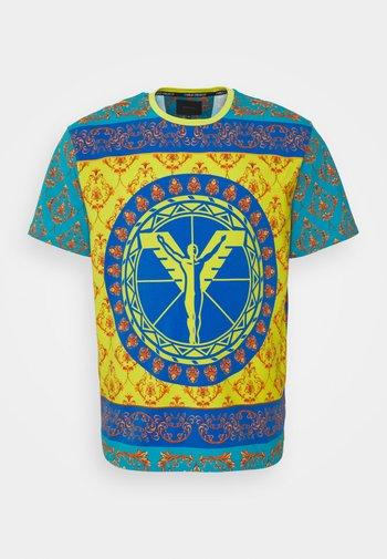 COLOURS BIG - Print T-shirt - petrol