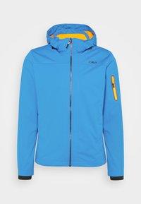 MAN ZIP HOOD JACKET - Soft shell jacket - regata
