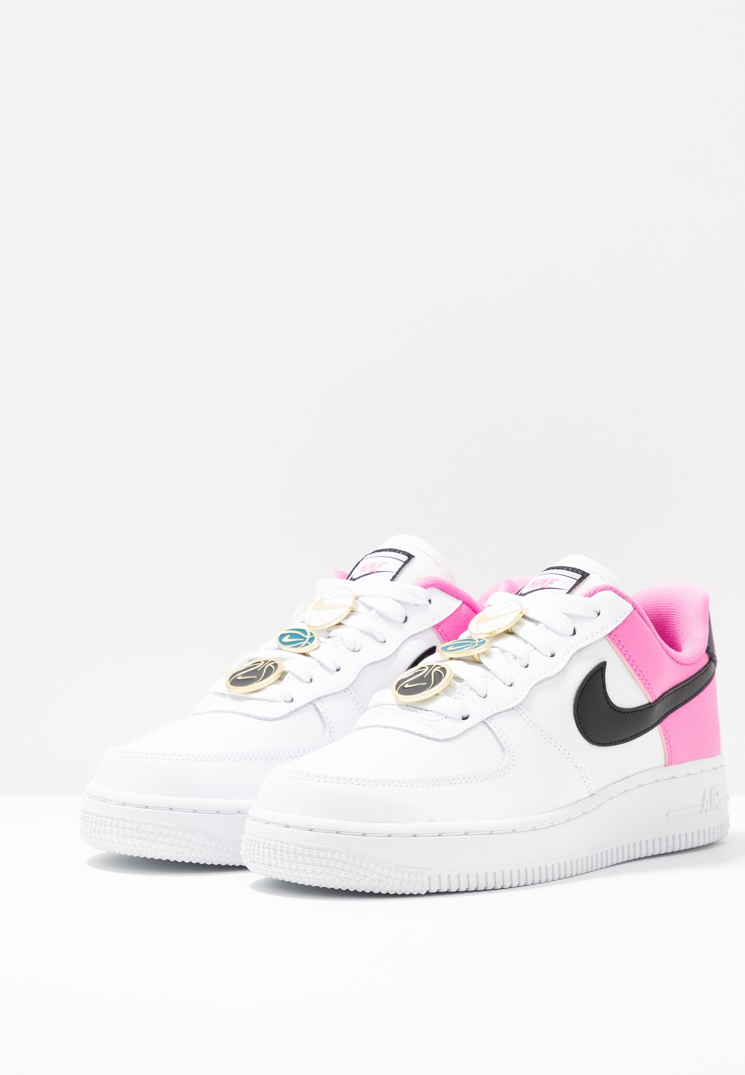 air force 1 bianche e rosa