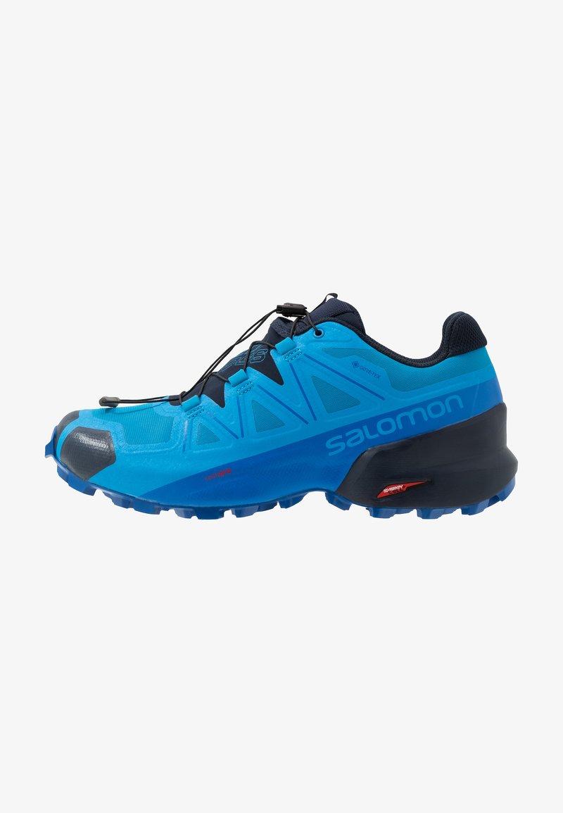 Salomon - SPEEDCROSS 5 GTX - Trail running shoes - blue aster/lapis blue/navy blazer