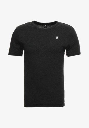 DAPLIN - T-shirt con stampa - black heather