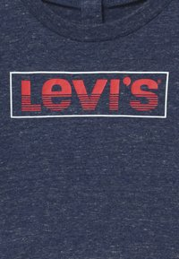 Levi's® - LOGO TAPED LONG SLEEVE - Top s dlouhým rukávem - dark blue/red - 2