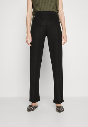RACK - Trousers - black