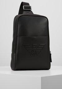 Emporio Armani - BODYPACK - Across body bag - black - 0