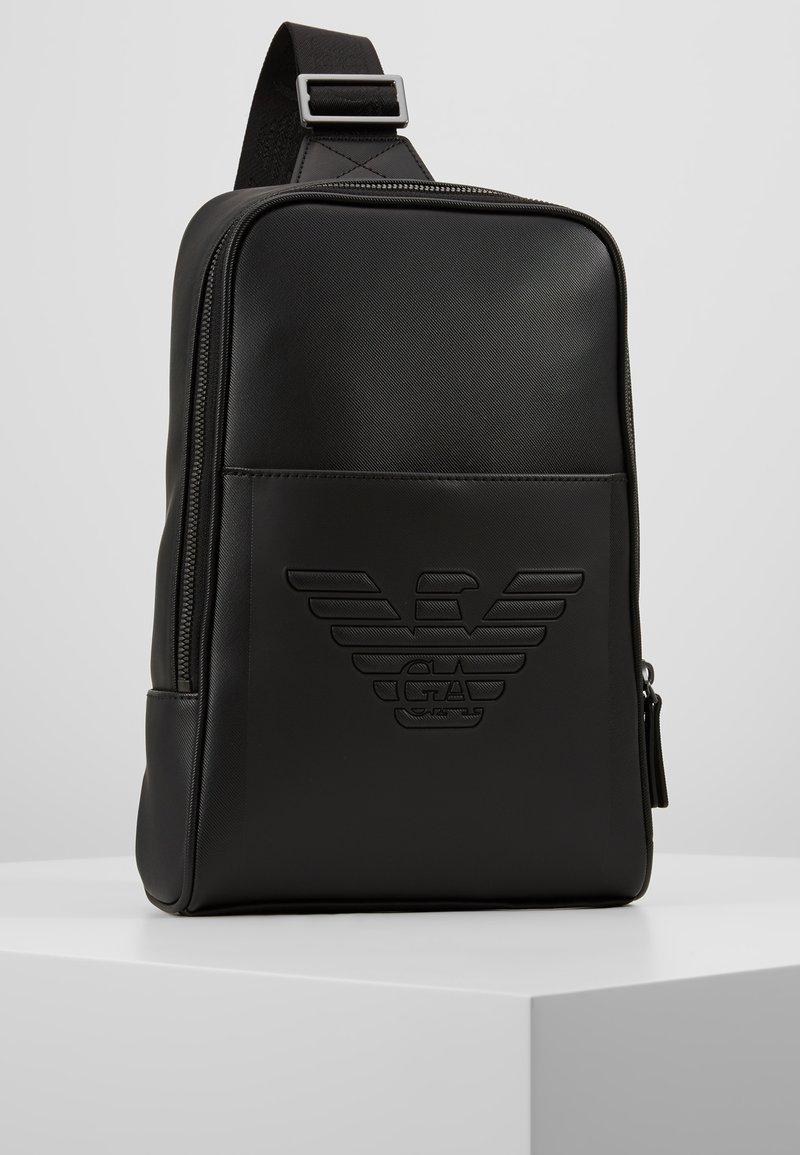 Emporio Armani - BODYPACK - Across body bag - black