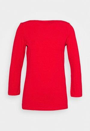 ONLLIVE LOVE 3/4 BOATNECK - Top sdlouhým rukávem - high risk red
