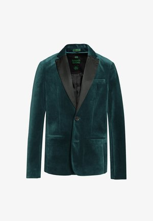 WE FASHION JONGENS REGULAR FIT BLAZER - Blazer jacket - green