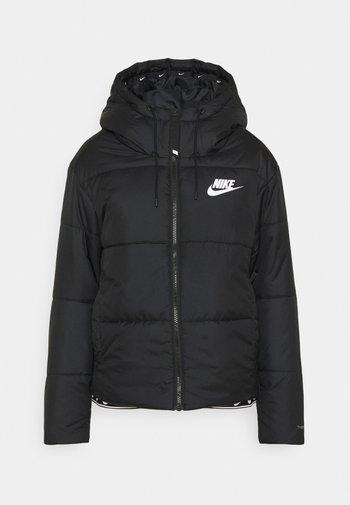 CLASSIC TAPE - Winter jacket - black/white
